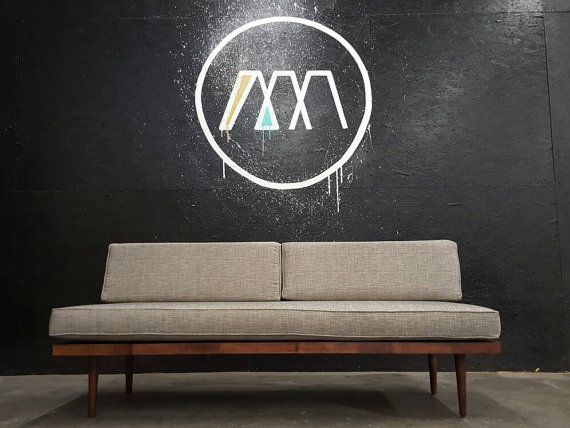 mid century danish modern daybed sofa by tdfurniture on etsy house rh pinterest com t d furniture sumiton al t d furniture sumiton al