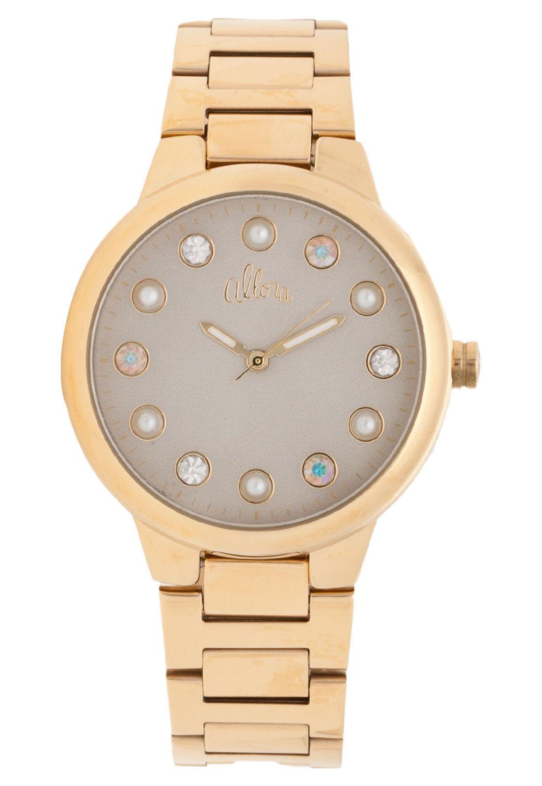feaca2fae0929 Relógio Allora AL2035LP4C Dourado - Compre Agora