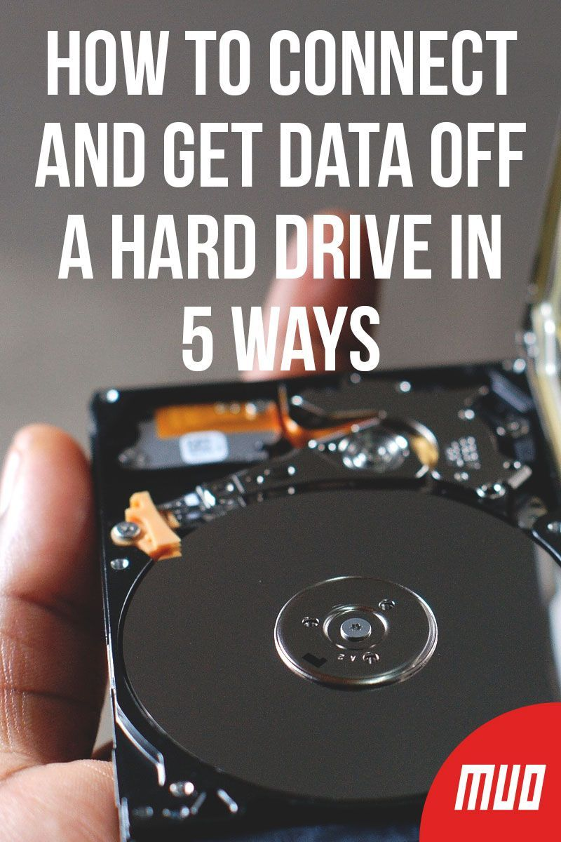 how to get to your hard drive
