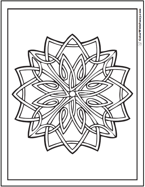 ColorWithFuzzy Celtic Designs Heraldry Coloring