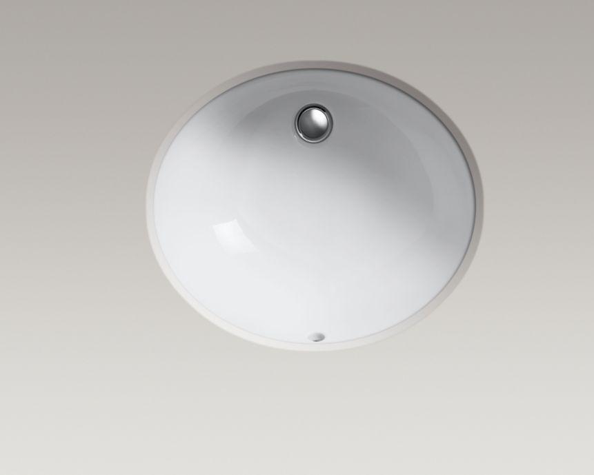 KOHLER   K 2210   Caxton Undermount Sink, 17 By 14 Inches