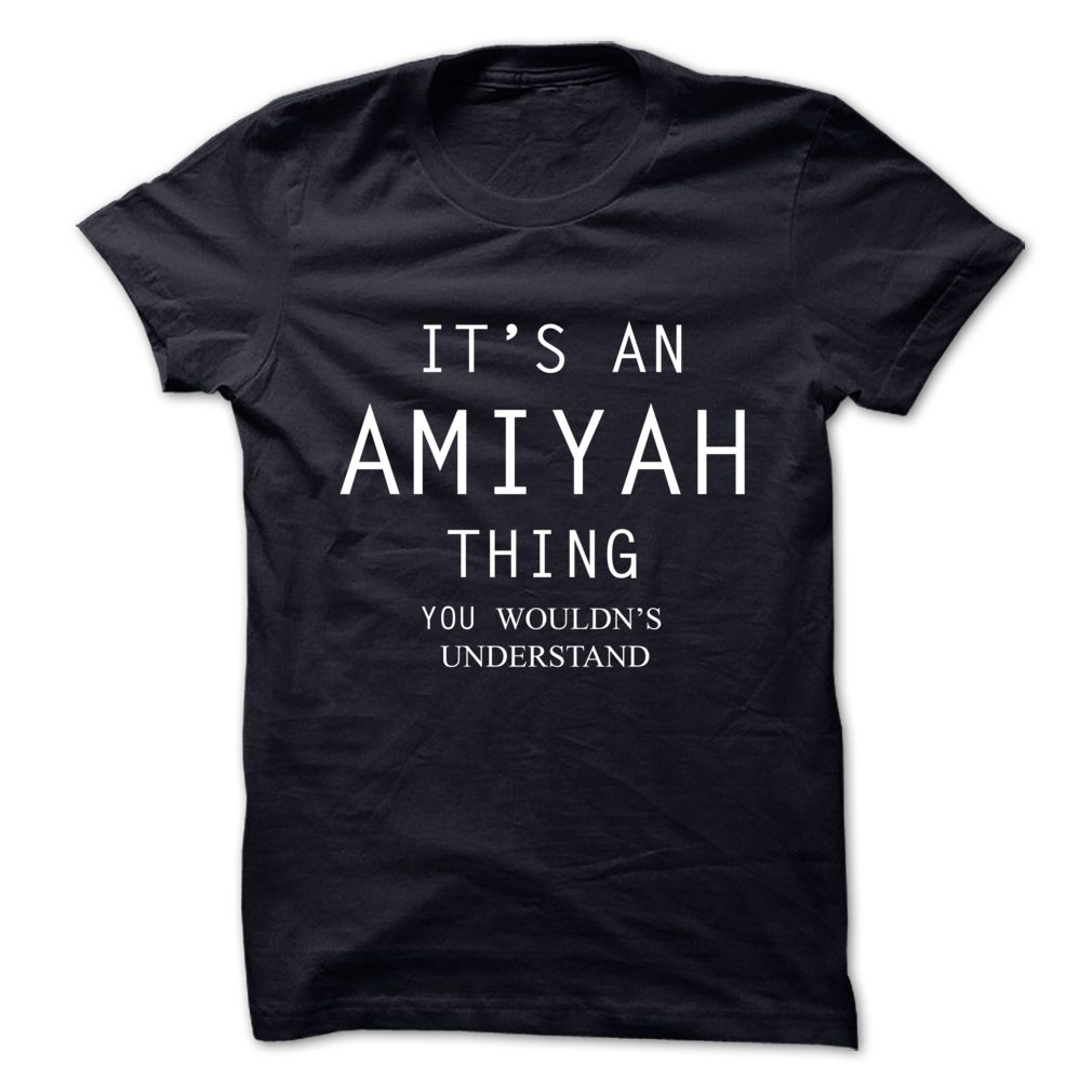 #Statestshirts... Awesome T-shirts  Worth :$19.00Purchase Now  Low cost Codes View pictures & pictures of Its An AMIYAH Thing.You Wouldns Understand t-shirts & hoodies:In the event you don't completely love our design, you possibly can SEARCH your favourite one....