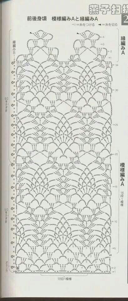 Stitch crochet pattern | picos de gsnchillo | Pinterest | Puntadas ...