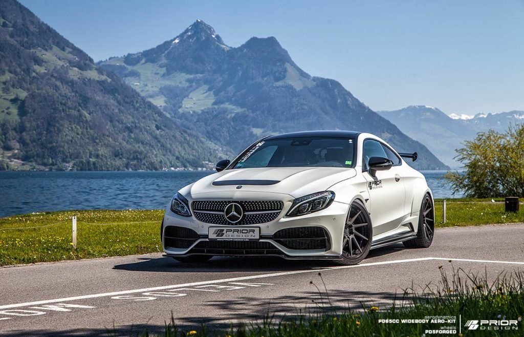 Mercedes C Class Coupe Prior Design North America With Images