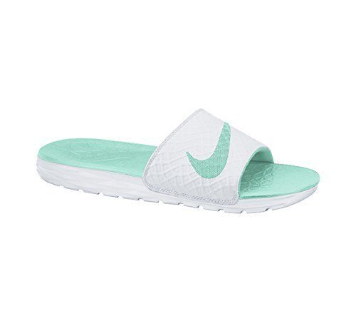 4e32908752d14b New Nike Women s Benassi Solarsoft Slide White Artisan Teal 10    Check out  the image by visiting the link.
