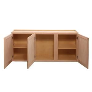 Best Assembled 54X24X12 In Wall Kitchen Cabinet In Unfinished 640 x 480