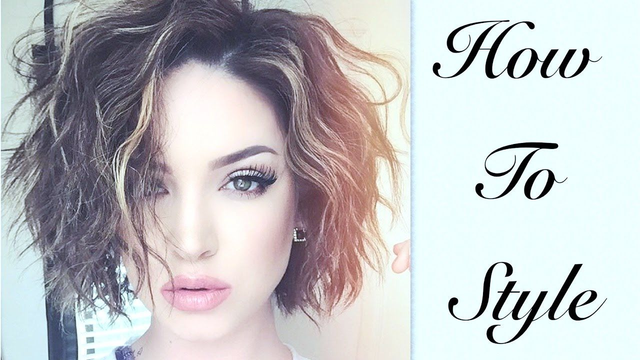 Short u Wavy  Effortless Hair Tutorial  Bella  Pinterest  Short
