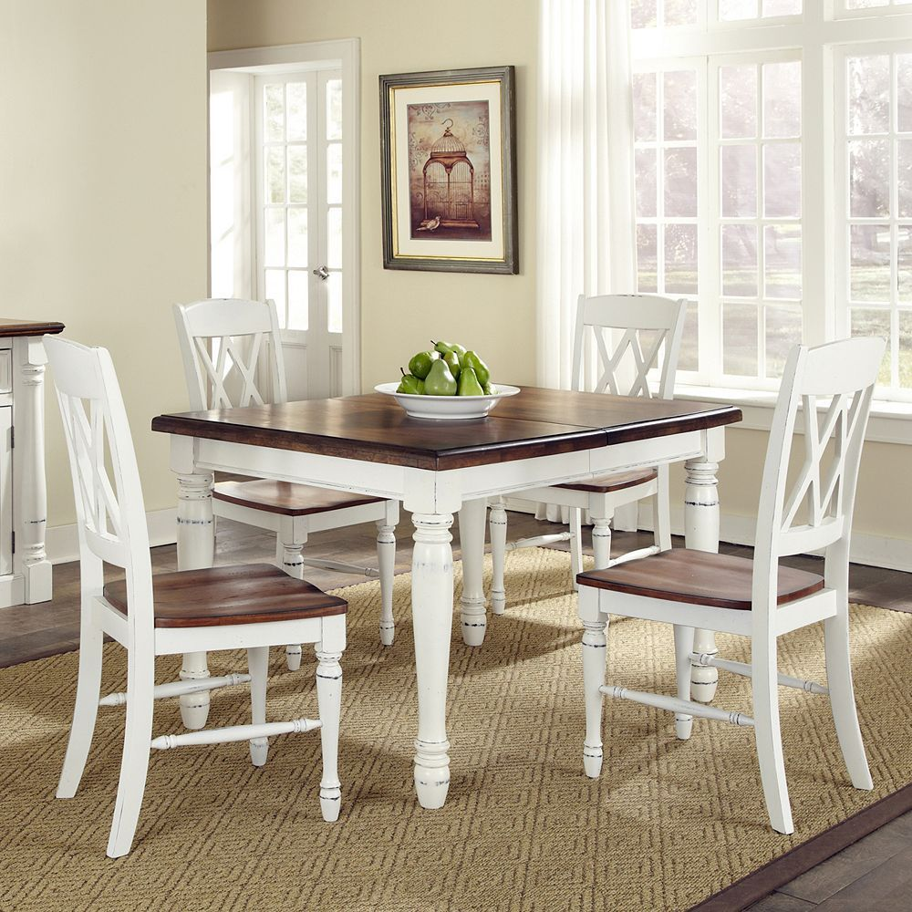 Monarch 5 Pc Dining Table Chair Set