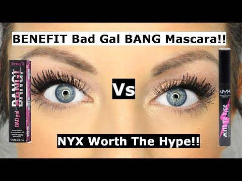 a3e0b7efa1d ARE YOU BEING LIED TO? | BENEFIT BADGAL BANG MASCARA VS MAYBELLINE ...