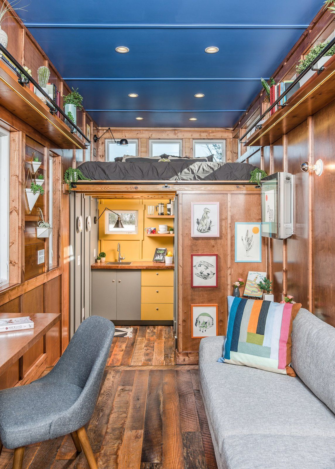 Marvelous Photo 4 Of 12 In This Tiny Home And Writing Studio Was Download Free Architecture Designs Scobabritishbridgeorg
