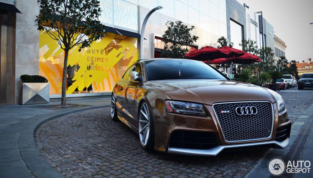 Audi RS 5 Ipanema Brown + Reiger Body Kit + Vossen Wheels