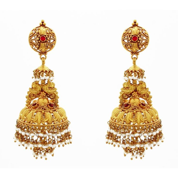 Gold Earring Made in Rajasthan India | Indian Costume | Pinterest ...