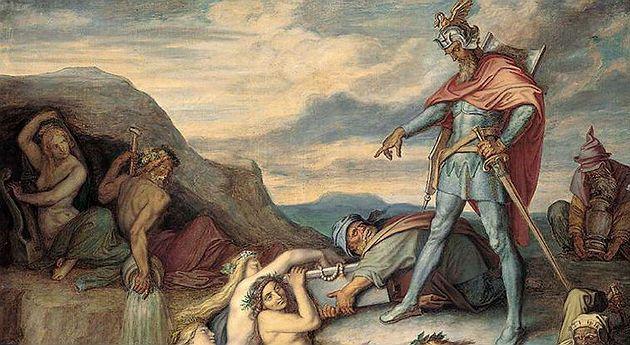 El Misterioso Tesoro De Los Nibelungos Nibelungos Pintura Sirena Mitología Céltica
