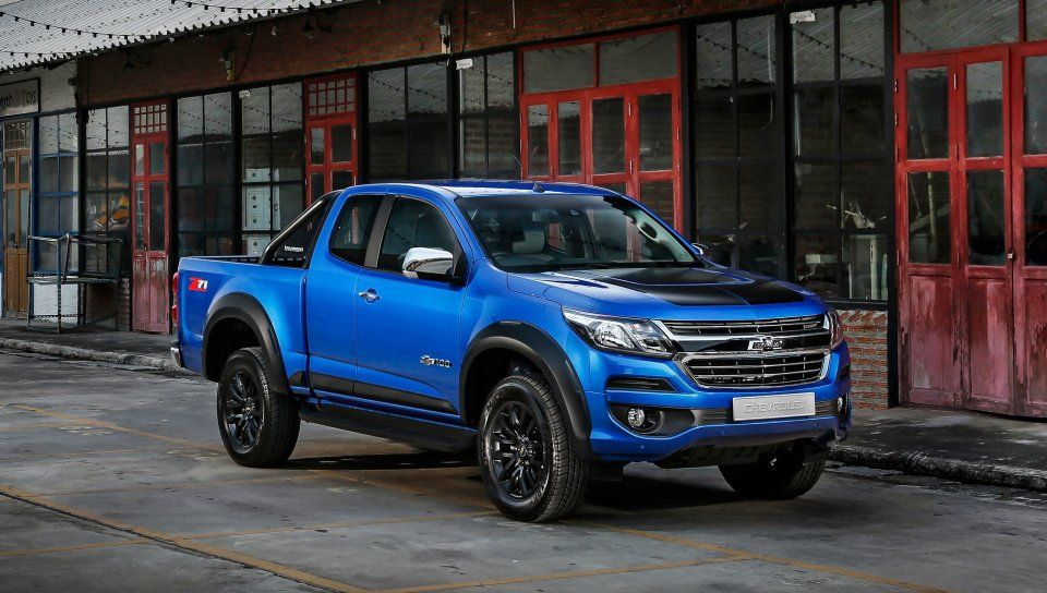 Chevrolet Colorado Blue Pickup Truck Wallpaper With Images
