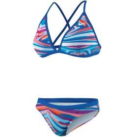 Nike Women's Rio Geo Convertible Halter 2-Piece Swimsuit - Dick's Sporting Goods