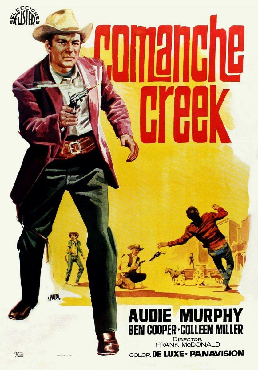 """Comanche Creek (1963) """"Gunfight at Comanche Creek"""" de Frank McDonald - tt0058165"""