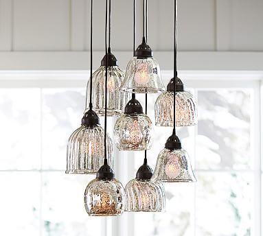 mercury glass lighting fixtures. kenzie mercury chandelier amazing for the kitchen over a round table love contrast glass would be against rustic elements in lighting fixtures g