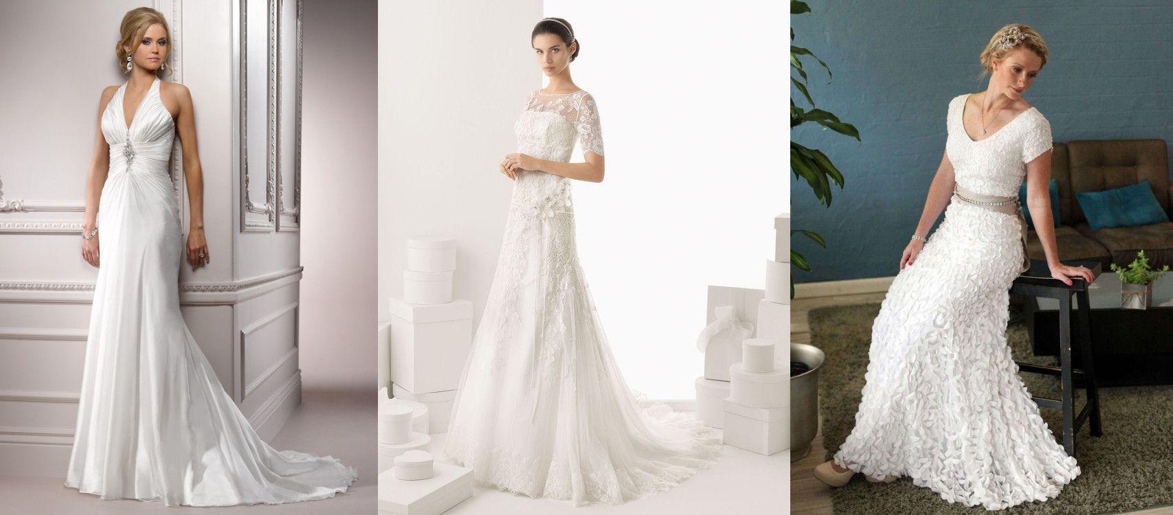 50+ Wedding Dresses for Over 50 Brides - Wedding Dresses for the ...