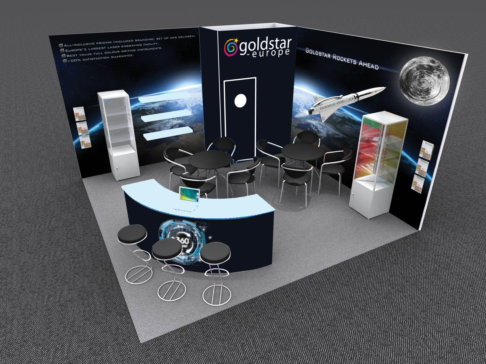 Corner Exhibition Stands Up : Fantastic modular frameless seg graphic corner expo booth