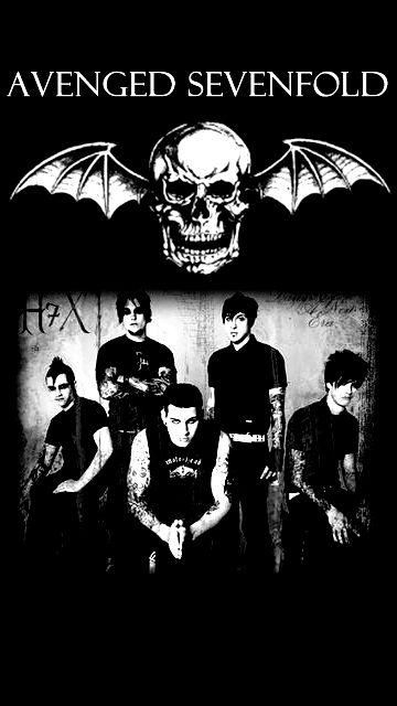 Avenged Sevenfold Iphone Wallpaper By Bayleebai On Deviantart