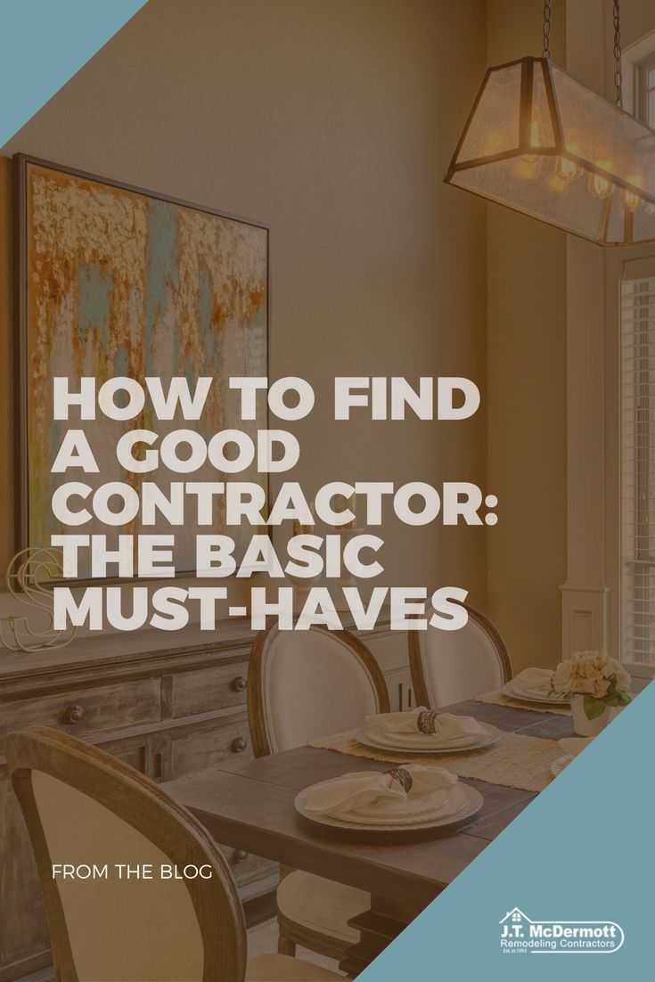 Good Contractor Vs. Bad Contractor in St. Louis | Design Tips From ...