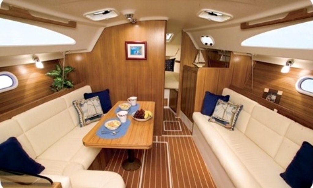 Image result for catalina 30 interior boat rental