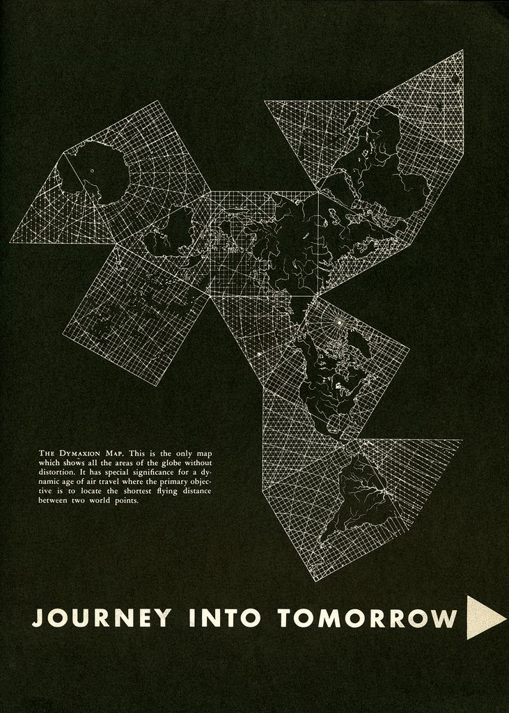 Photo buckminster fuller dymaxion map from an edition of gentry photo buckminster fuller dymaxion map from an edition of gentry 1953 gumiabroncs Choice Image
