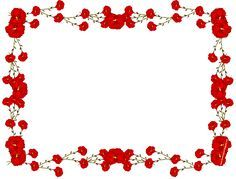 Beautiful Rose Frame Border Design 2016 Sadiakomal