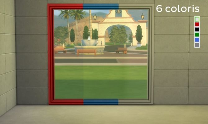 Aurore windows by Maman Gateau at Sims Artists • Sims 4 Updates