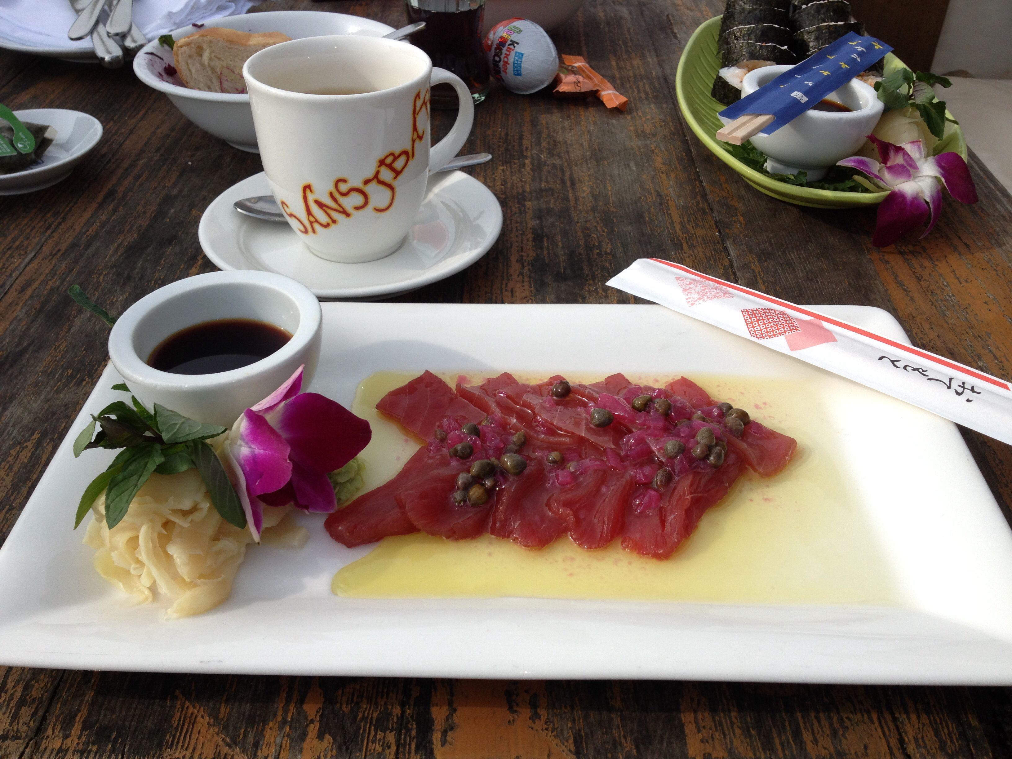 Delicious Sashemi & Sushi @ Sansibar  Rantum Sylt