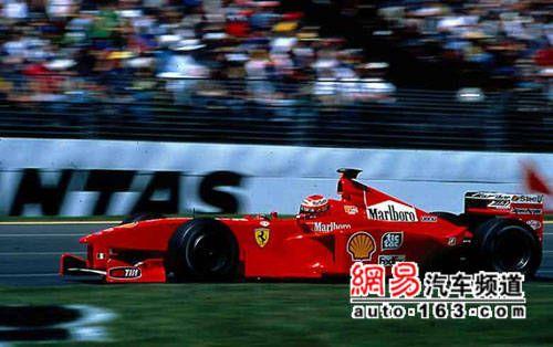 不容遗忘的辉煌!法拉利历代F1战车赏析: 1999年F399