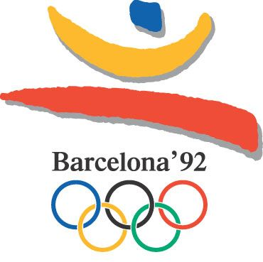 One of the best Olympics logos from all time. Created by J.M. Trias.