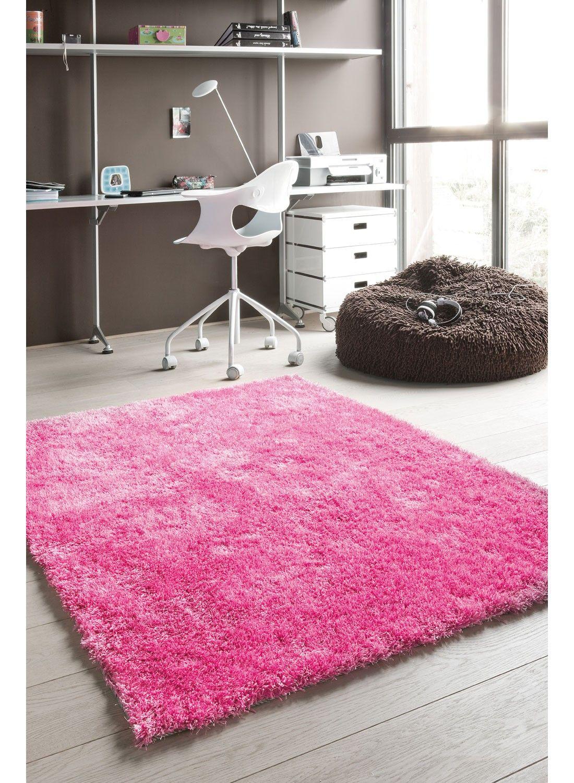 tapis fushia | Idée chambre fille | Rugs, Shaggy rug et Kids rugs