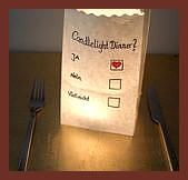 Candlelight dinner not only for Valentines Day but also for between a  Candlelight dinner not only for Valentines Day but also for between a funnyromantic invitation to e...