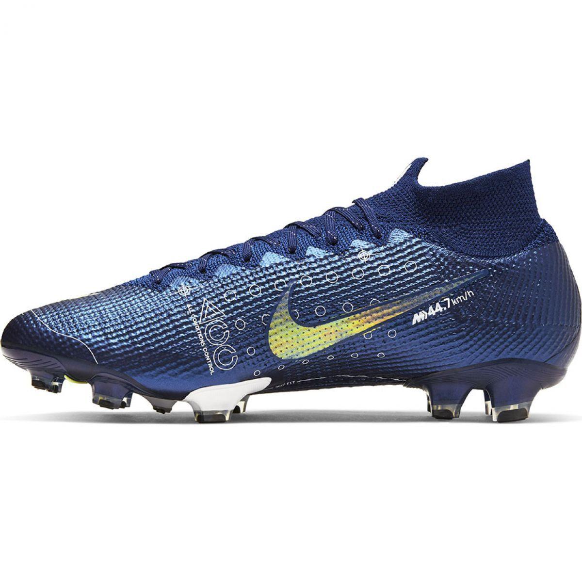 Corks Football Sport Nike Nike Mercurial Superfly 7 Elite Mds Fg M Bq5469 401 Football Shoes Blue Blue Football Boots Boots Football Shoes