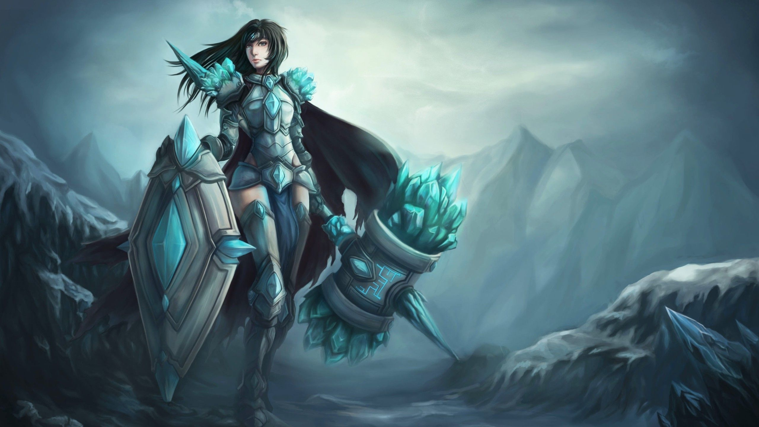 League Of Legends Wallpaper If taric was a woman!