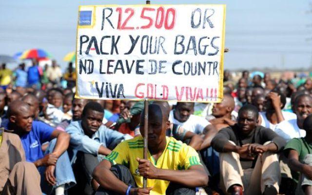 Cauto ottimismo per la fine dello sciopero dei minatori in Sudafrica #scioperominatorisudafrica