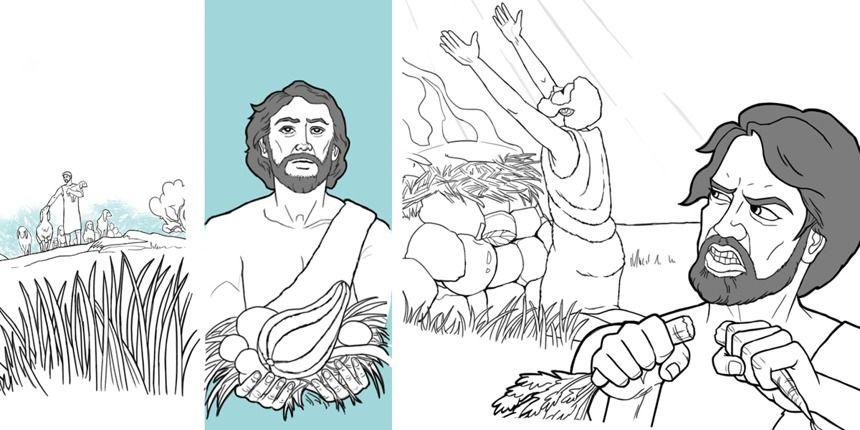 Qué aprendemos de Caín y Abel? | Pinterest | La familia, Actividades ...