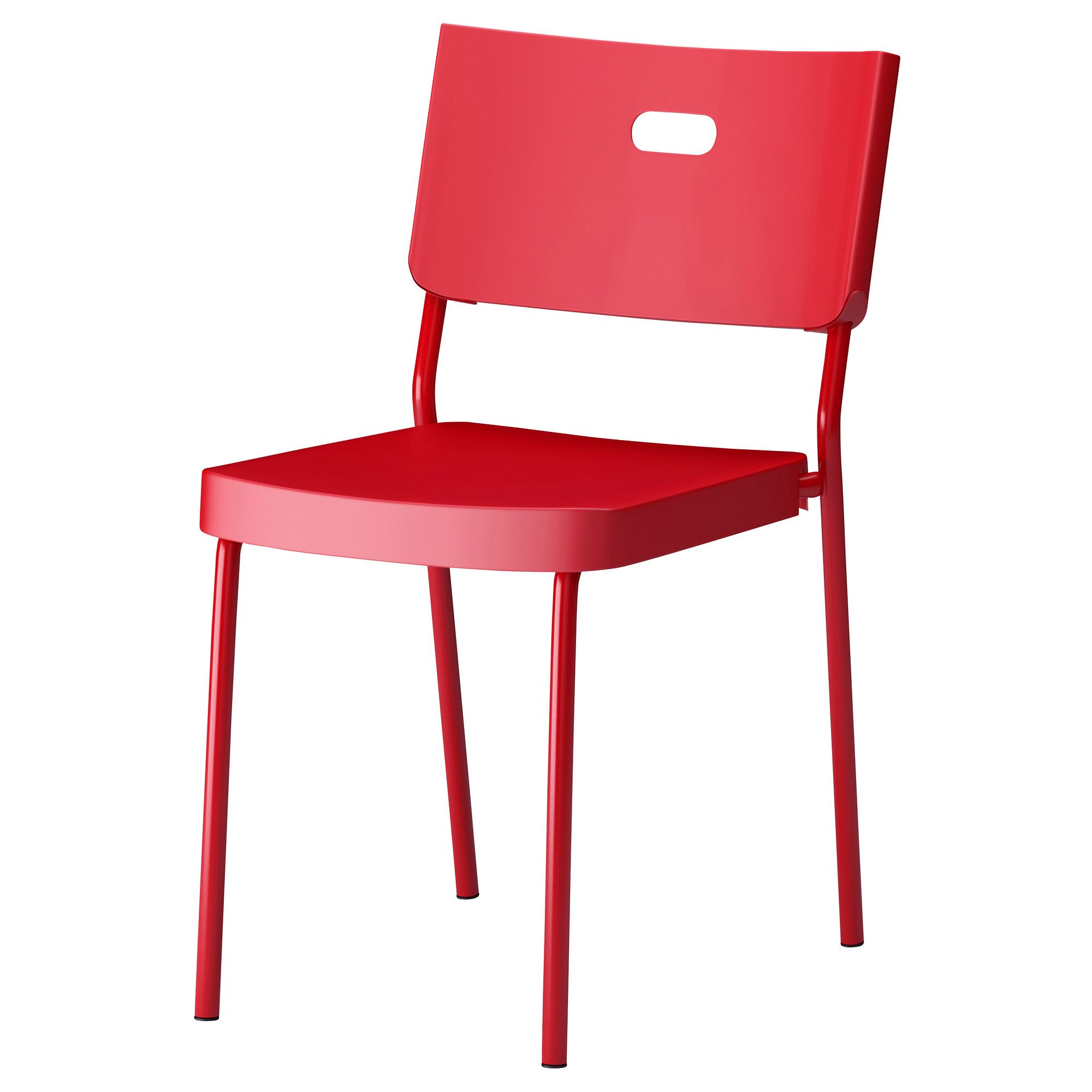 HERMAN Chair red IKEA $15 Pop Art Pinterest