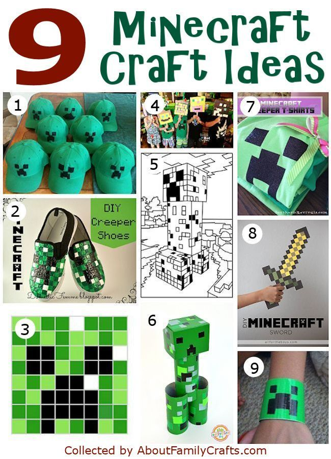 minecraft party craft ideas 50 diy minecraft birthday ideas about family 4962