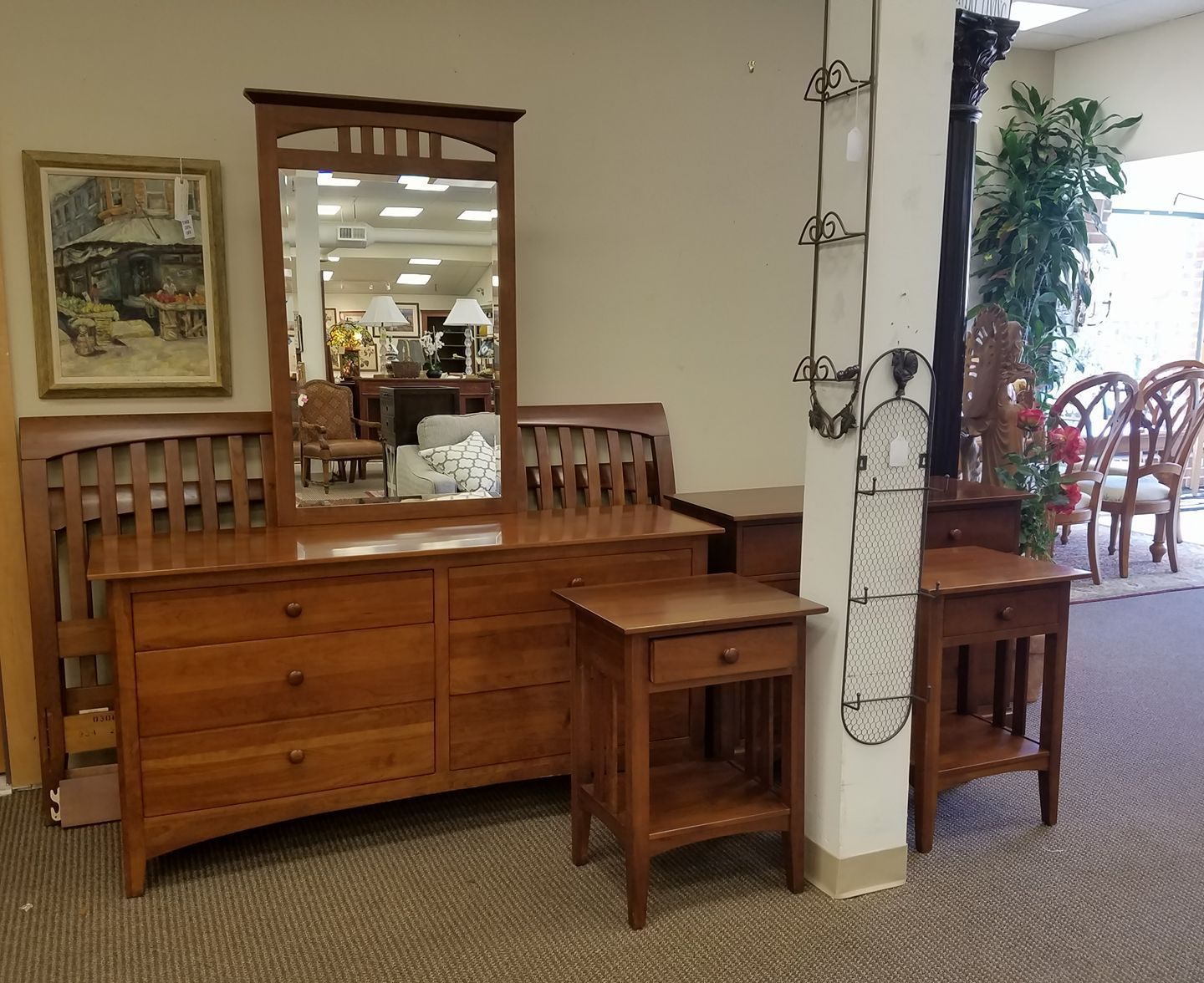This Ethan Allen American Impressions Bedroom Set Is 1895 King