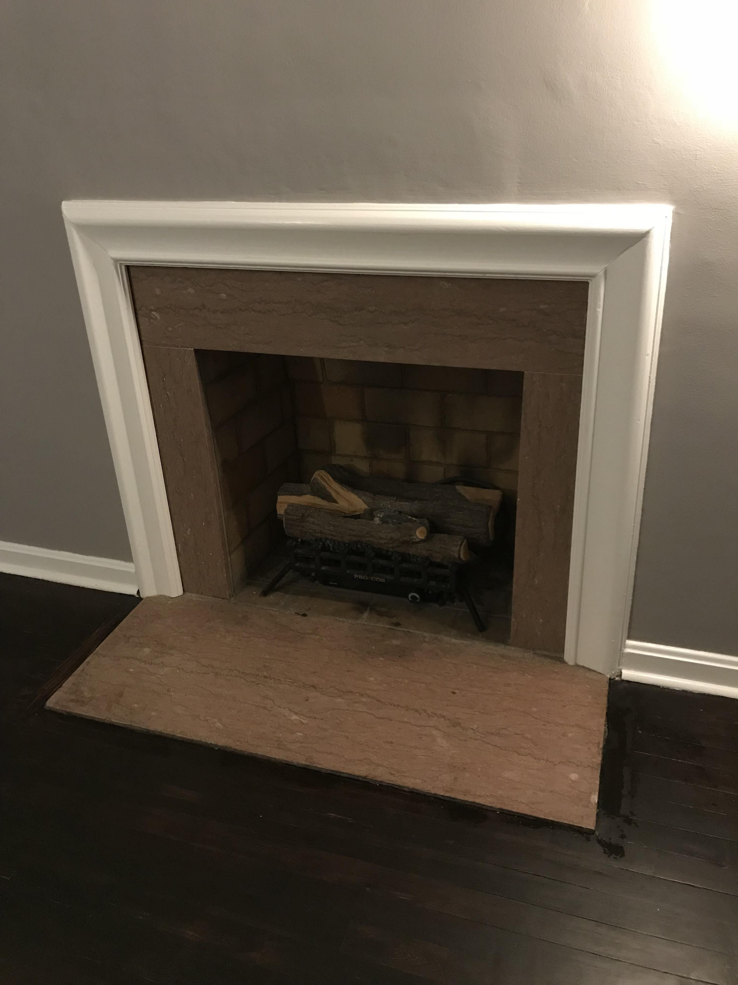 Any Advice On How To Modernize This Fireplace Wed Rather