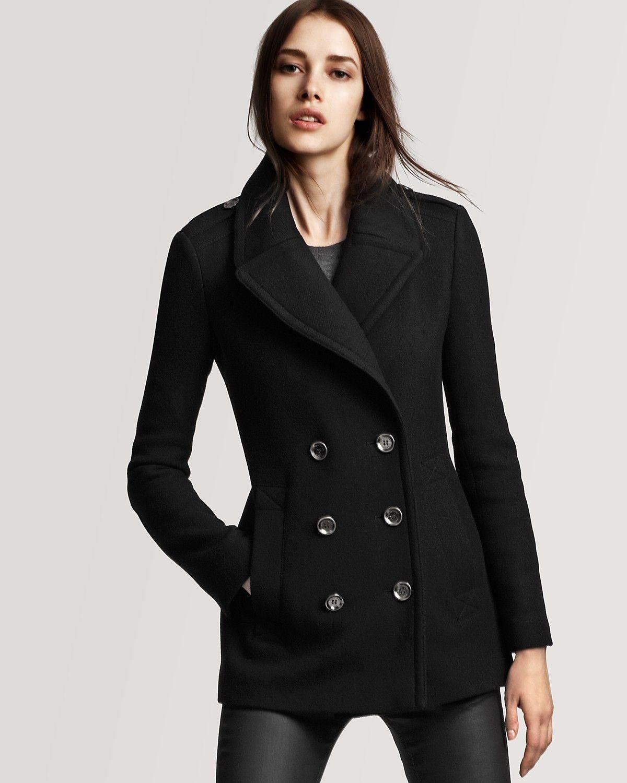 top fashion affordable price good service Pea Coats for Women | Burberry Brit Tumblebridge Pea Coat ...