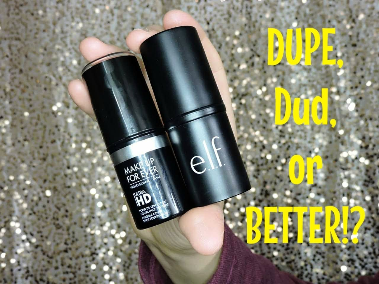 DUPE, Dud, or Better?! Makeup Forever Ultra HD Stick