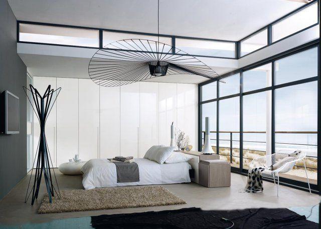 Un dressing pour une chambre moderne  suite parentale dressing  Trendy home Bedroom et Dressing