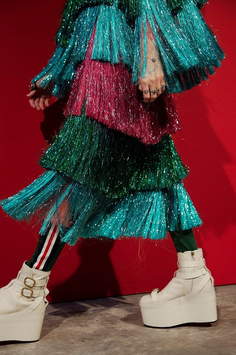 What went down at Gucci's SS17 show.