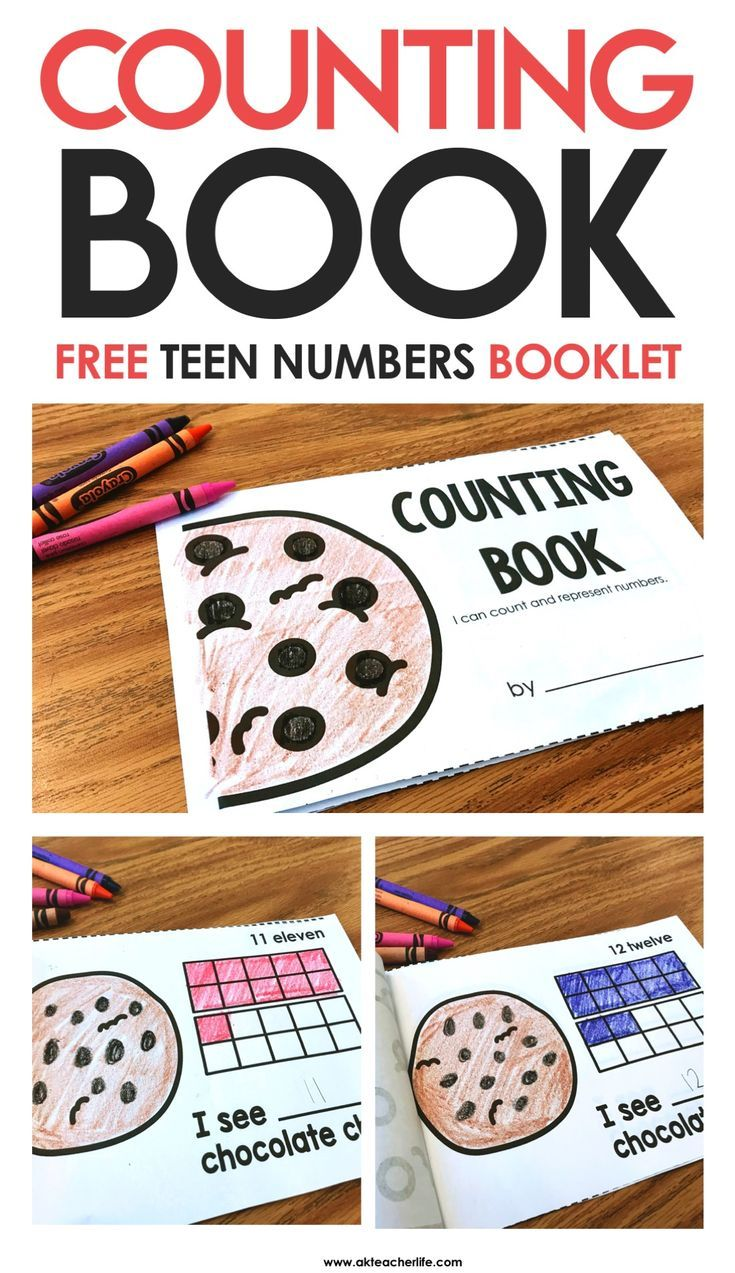 Teen Numbers Counting Book | Mathe, Klasse und Kind