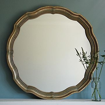 Elegant gold wall mirror stylish mirrors wall mirrors for Gold window mirror