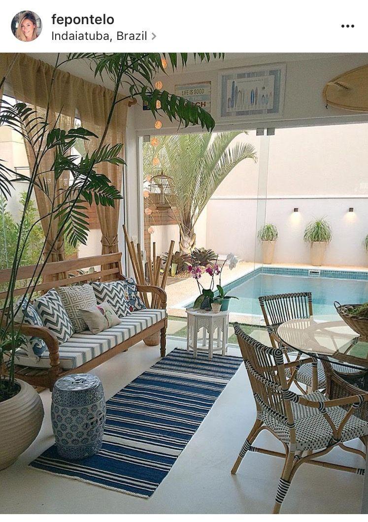 Pin De Jade Santos En Decor Praia Casas Con Piscina Jardines Para Casas Exteriores De Casas