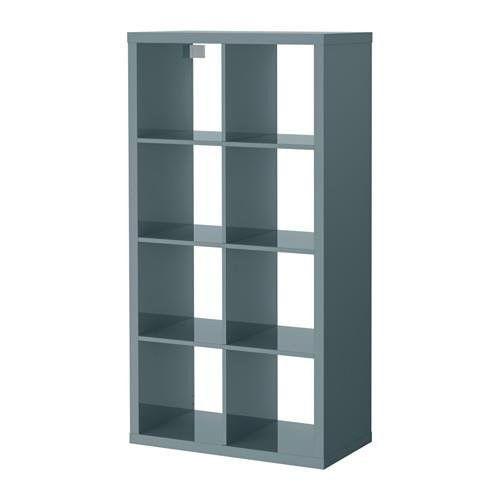 Best Ikea Kallax Shelf Unit High Gloss Gray Turquoise Ikea 400 x 300